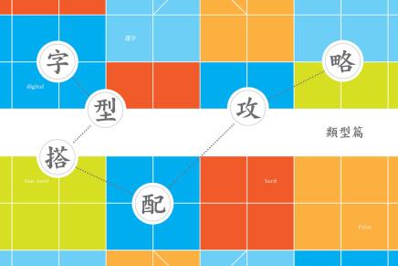 字型搭配攻略:類型篇