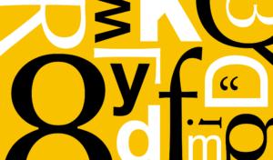 經典歐文字體,怎麼用才對?(上)