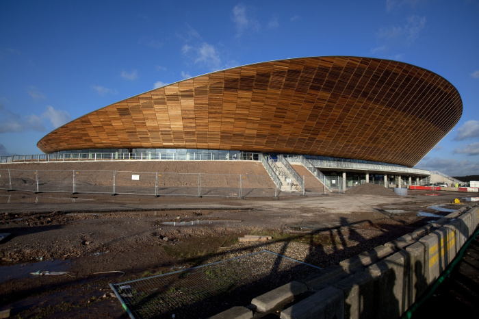 Velodrome. Exterior view of the Velodrome. Picture taken by David Poultney on the 18th Jan 11.