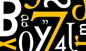 經典歐文字體,怎麼用才對? (下)